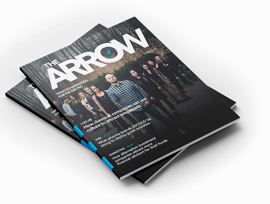 The Arrow Magazine Cover