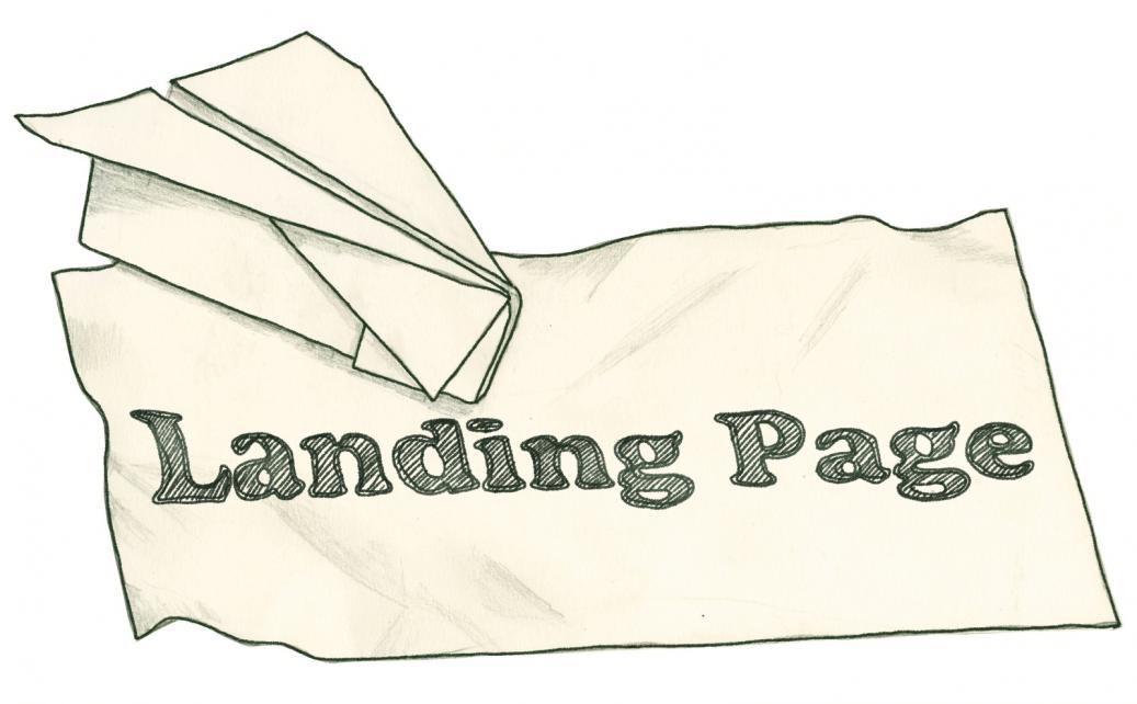 Pharma Landing Page