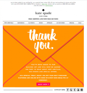 Ecommerce drip email marketing