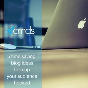 5 Time Saving Blog Ideas