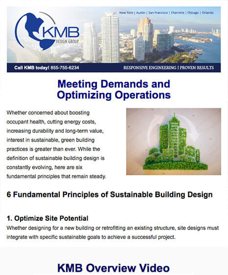 KMB Design Group Email