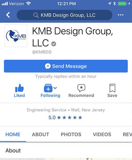 KMB Design Group Social Media
