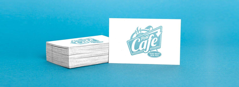 Post Cafe Branding