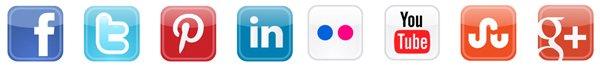 Social Media Icons 2014
